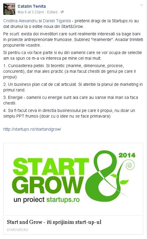 start grow
